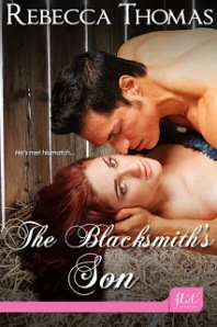 Cover_The Blacksmith's Son - Rebecca Thomas