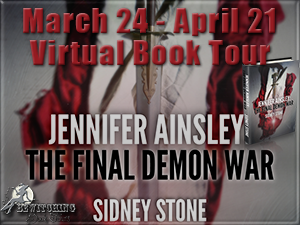 Jennifer Ainsley-The Final Demon War Button 300 x 225