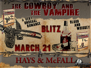 The Cowboy and the Vampire Button 300 x 225